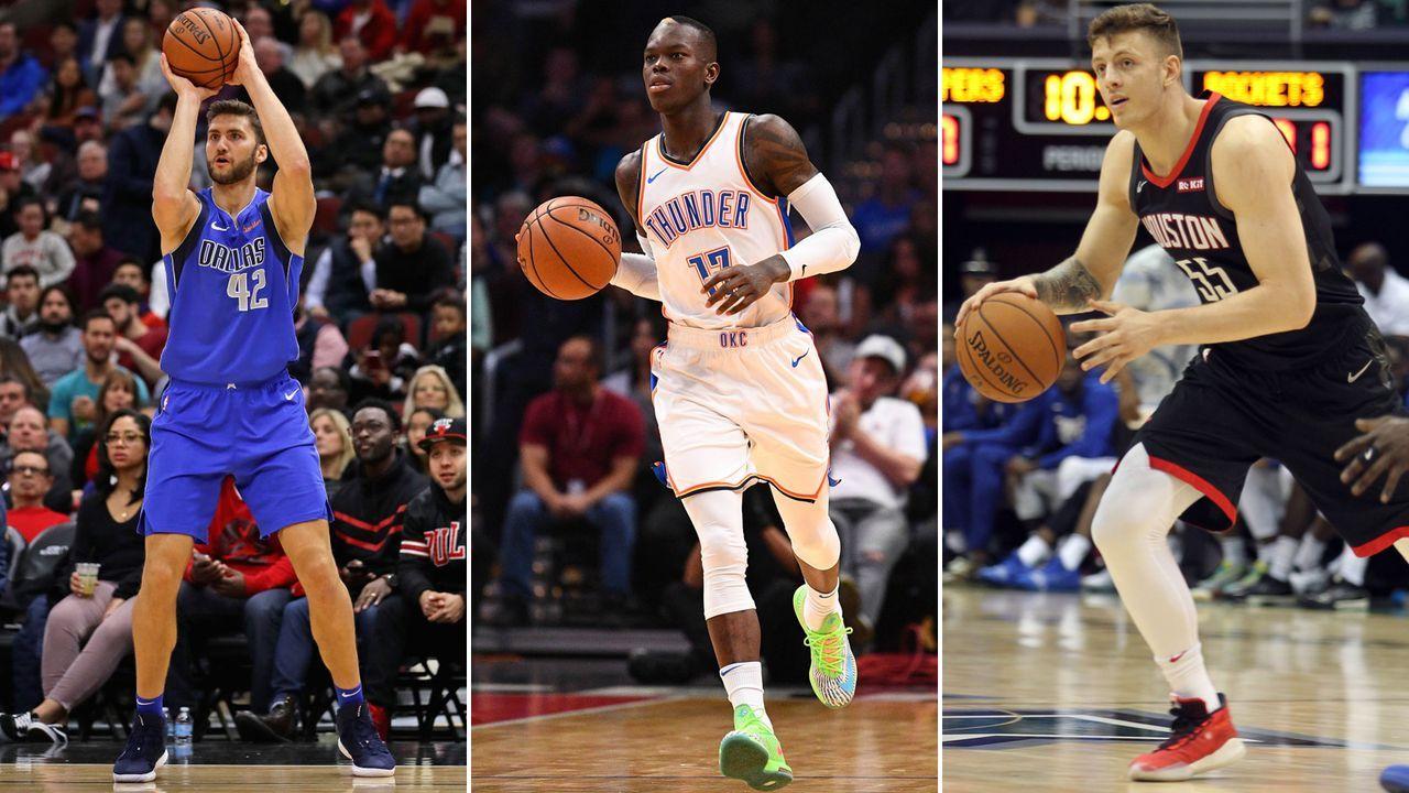 Das sind die Deutschen in der NBA 2019/2020 - Bildquelle: imago / getty images