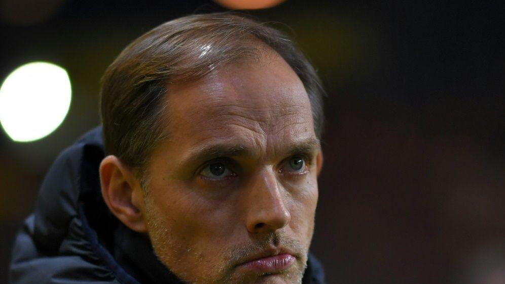 PSG-Coach Thomas Tuchel gibt sich bescheiden - Bildquelle: AFPSIDLOIC VENANCE
