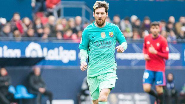 Lionel Messi - Bildquelle: 2016 Getty Images