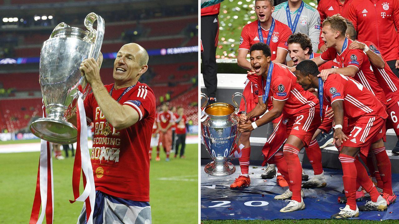 Arjen Robben vs. Serge Gnabry - Bildquelle: Imago