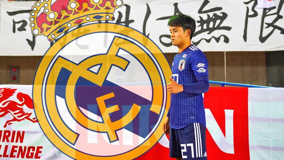 Takefusa Kubo ist der neue Youngster von Real Madrid - Bildquelle: Getty Images