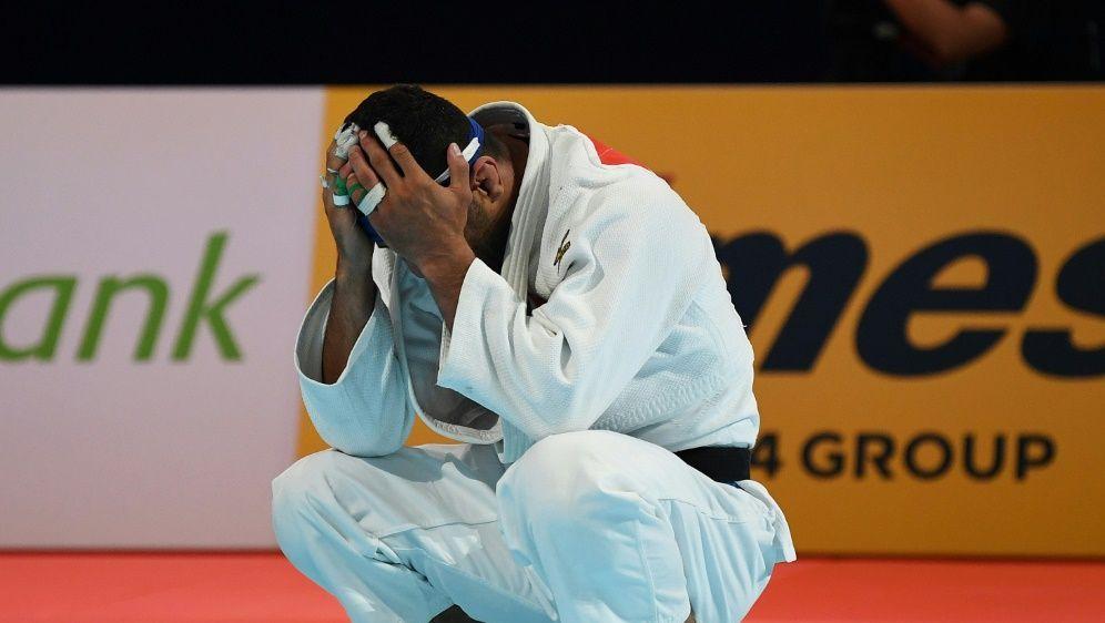 Saeid Mollaei verlor absichtlich das Halbfinale - Bildquelle: AFPSIDCHARLY TRIBALLEAU