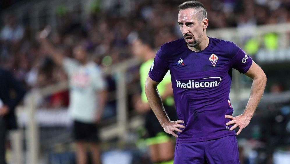 Franck Ribery wurde bei der Niederlage von Florenz eingewechselt - Bildquelle: Imago