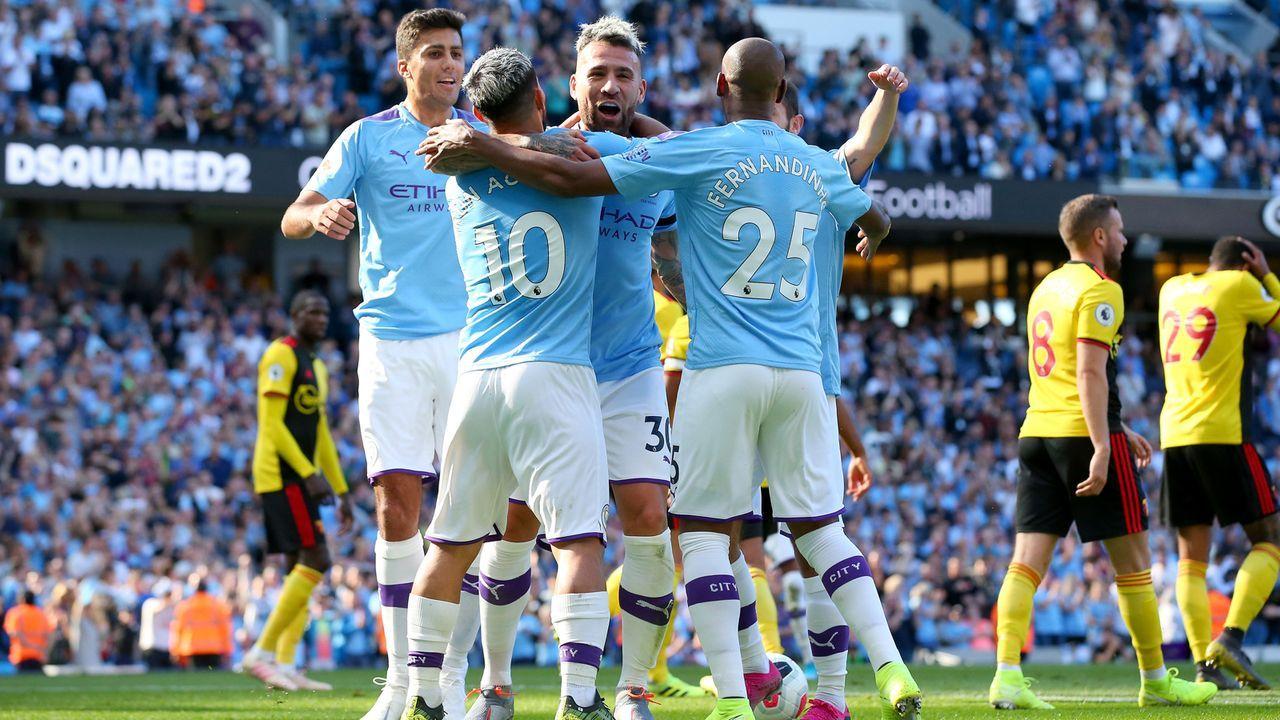 Manchester City mit historisch schneller 5:0-Führung - Bildquelle: 2019 Getty Images