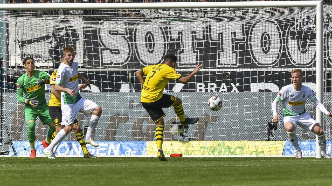 Sancho bringt Dortmund in Führung - Bildquelle: imago images / Nordphoto