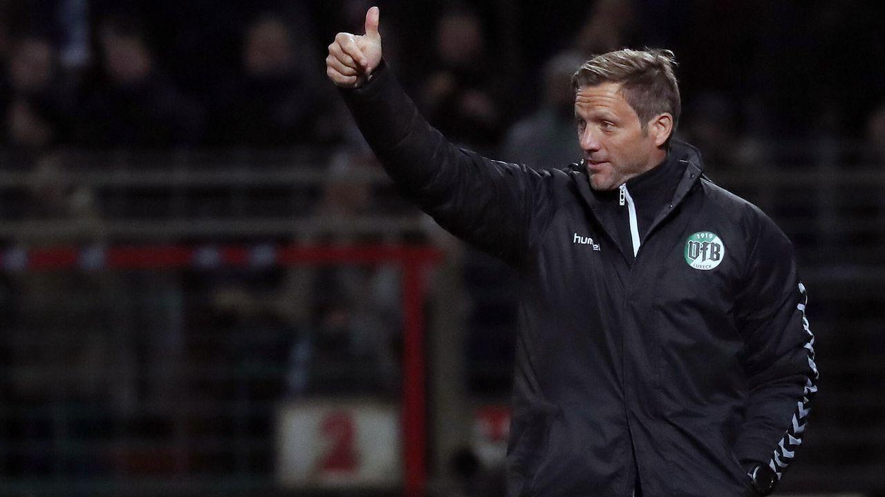 VfB Lübeck (Aufsteiger aus der Regionalliga Nord) - Bildquelle: imago images/Hübner