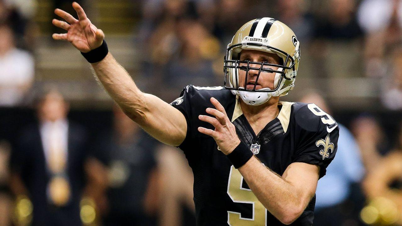 2015: Drew Brees (New Orleans Saints) - Bildquelle: imago