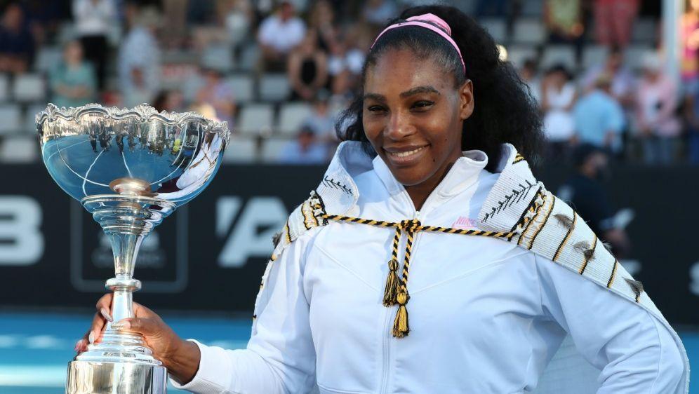 Serena Williams spendet ihre Siegprämie - Bildquelle: AFPSIDMICHAEL BRADLEY