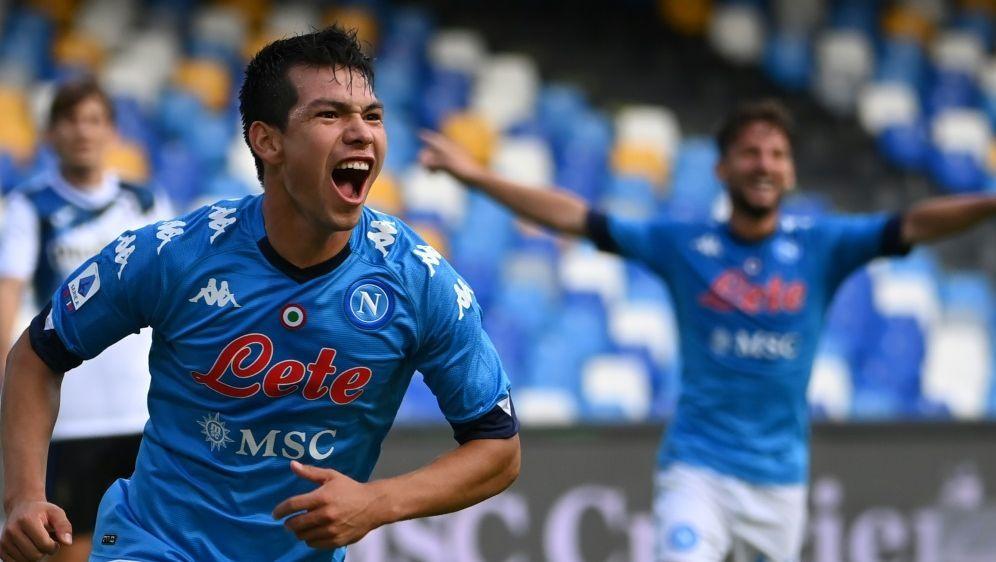 Hirving Lozano trifft gegen Bergamo doppelt - Bildquelle: AFPSIDALBERTO PIZZOLI