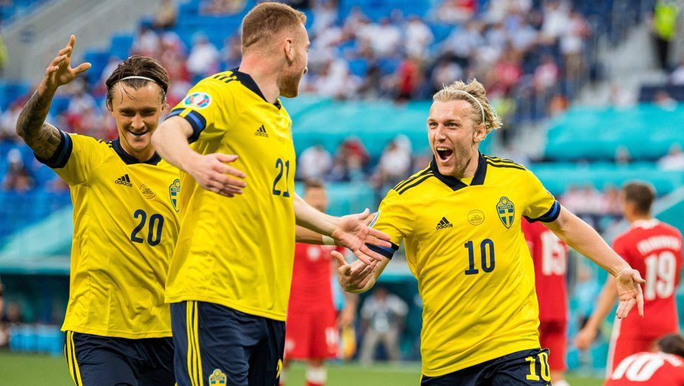 Schweden ist Gruppensieger - Bildquelle: Imago