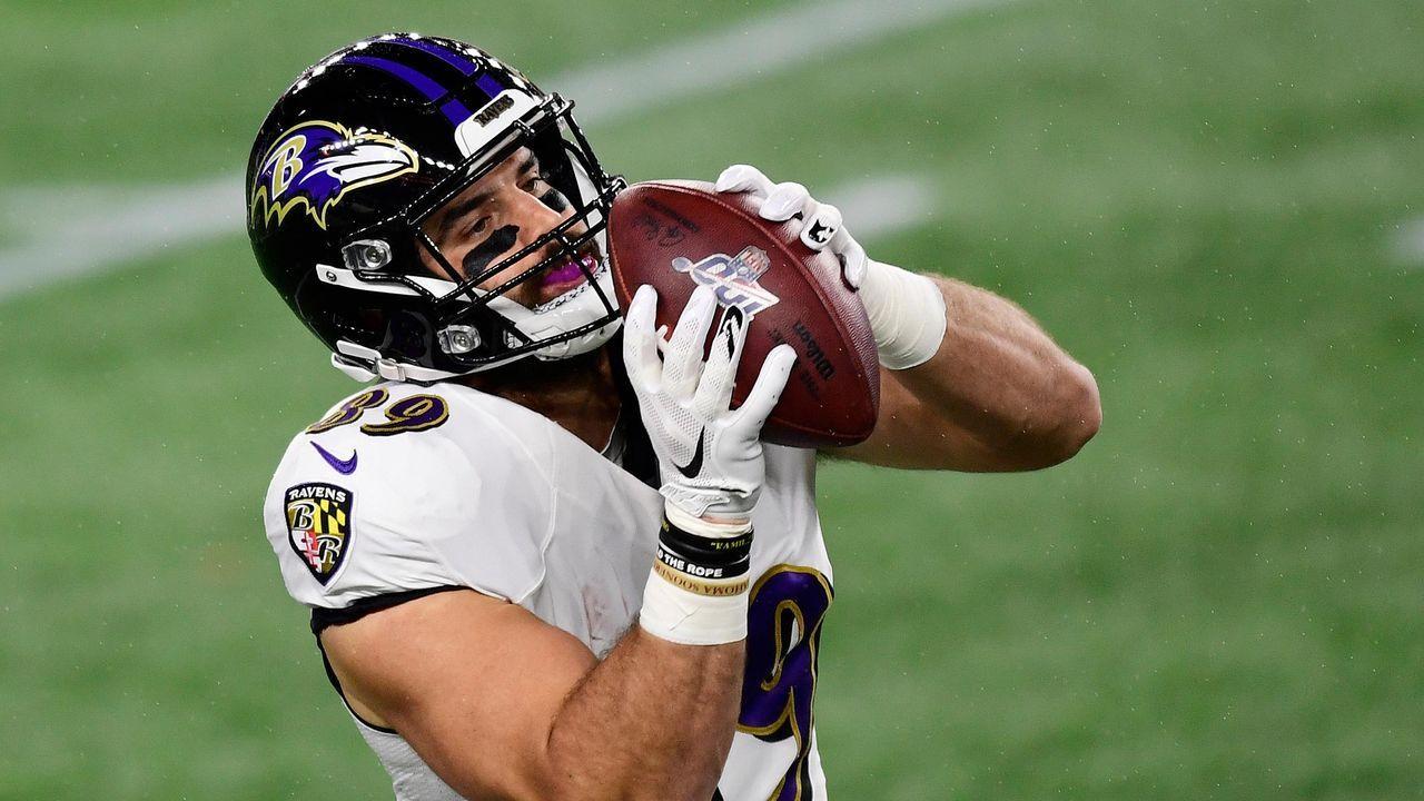 Platz 4: Mark Andrews (Baltimore Ravens) - Bildquelle: 2020 Getty Images