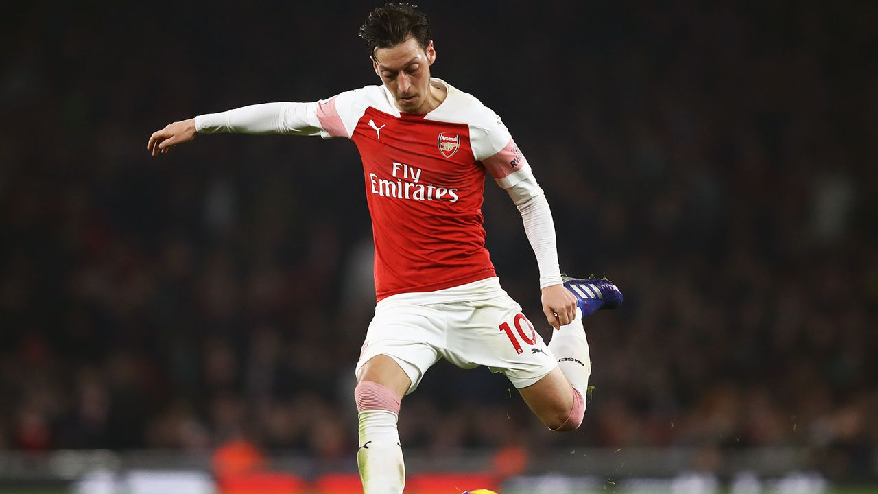Platz 3 - Mesut Özil (FC Arsenal) - Bildquelle: 2019 Getty Images