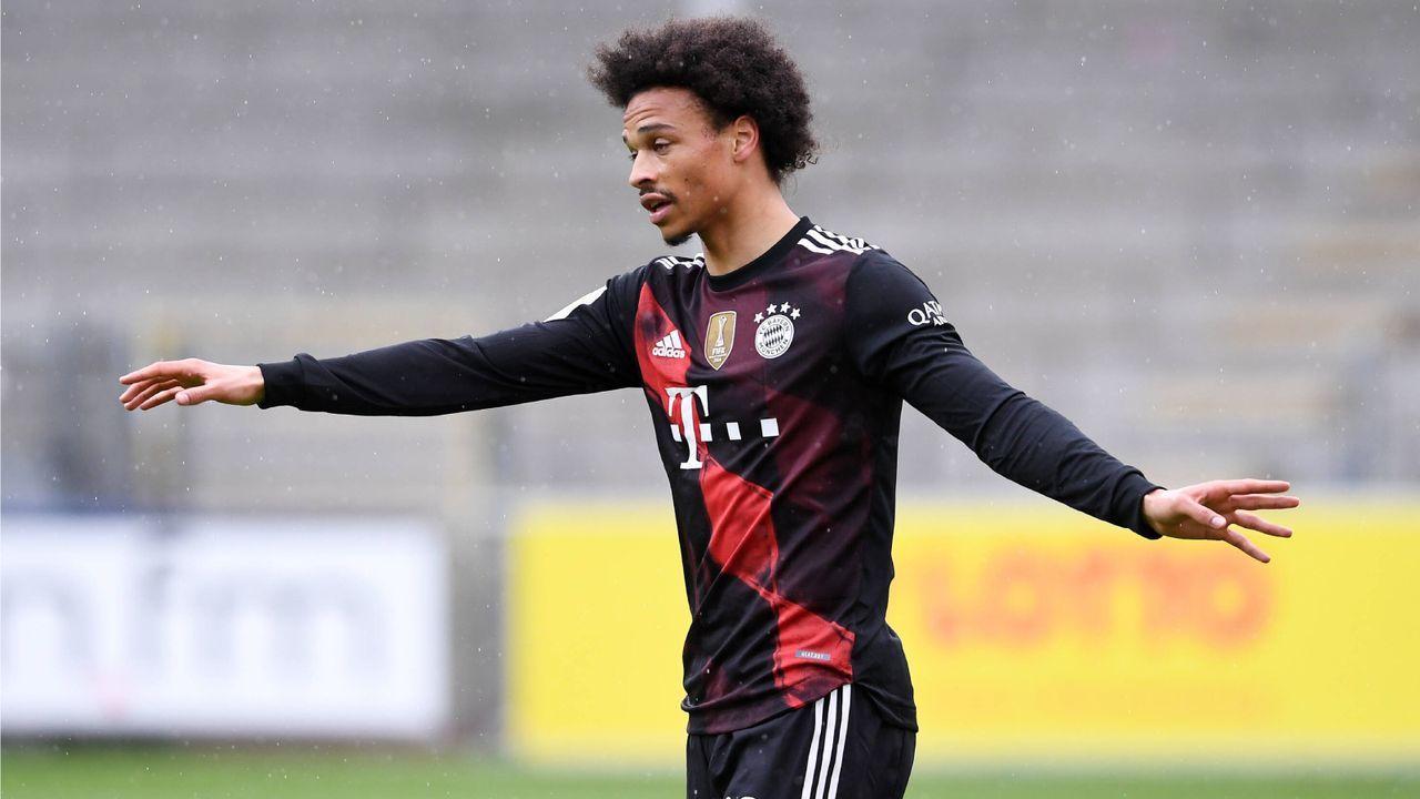 Platz 1: Leroy Sane (FC Bayern München) - Bildquelle: Imago