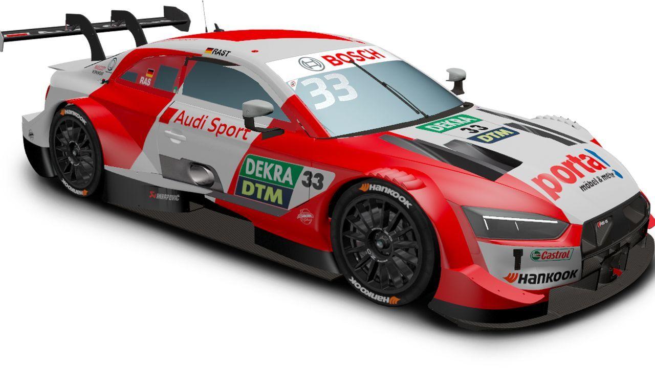Rene Rast (Audi Sport Team Rosberg) - Bildquelle: DTM