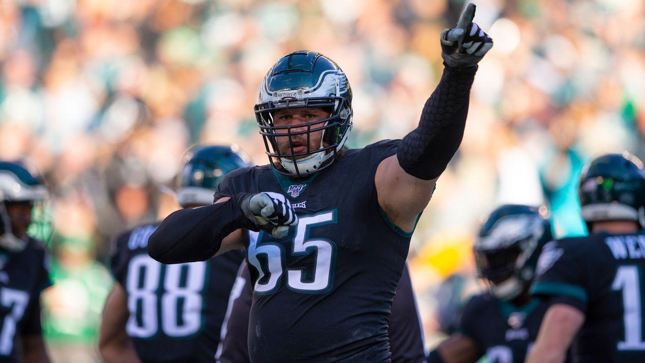 Right Tackle: Lane Johnson (Philadelphia Eagles) - Bildquelle: 2019 Getty Images