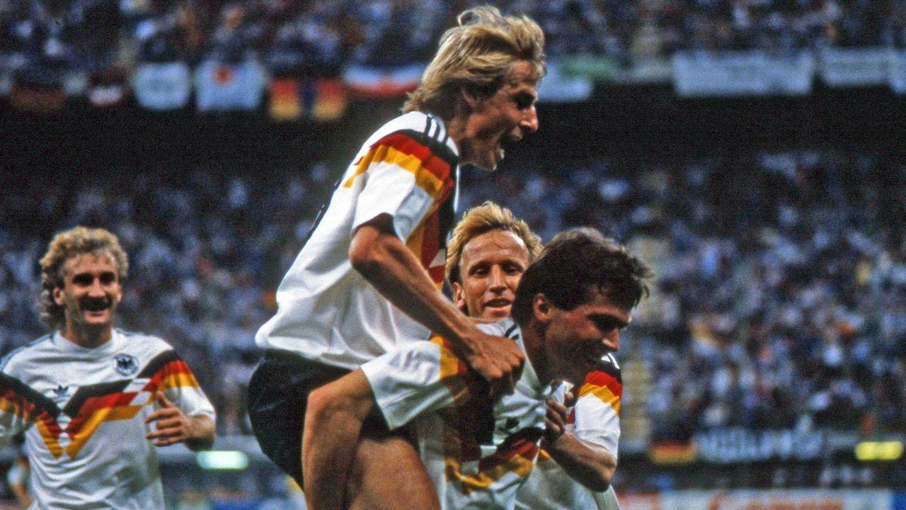 WM 1990: Deutschland - Jugoslawien - Bildquelle: imago images/Sportfoto Rudel