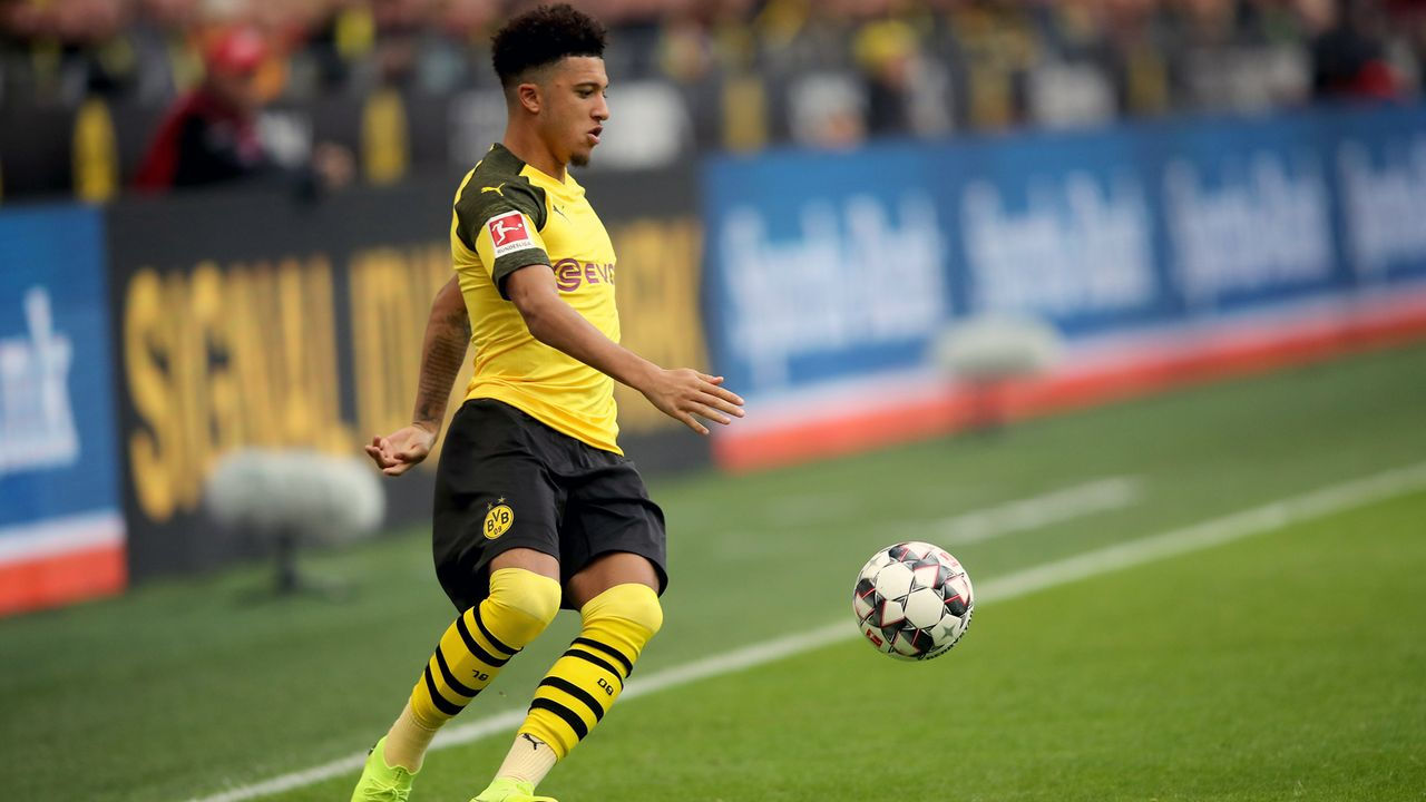 Platz 1 - Jadon Sancho (Borussia Dortmund) - Bildquelle: 2018 Getty Images