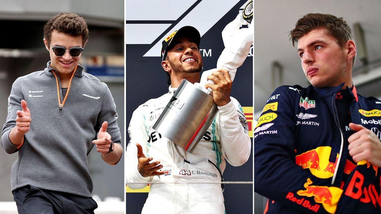 Die F1-Fahrer im Power Ranking - Bildquelle: Getty 2019