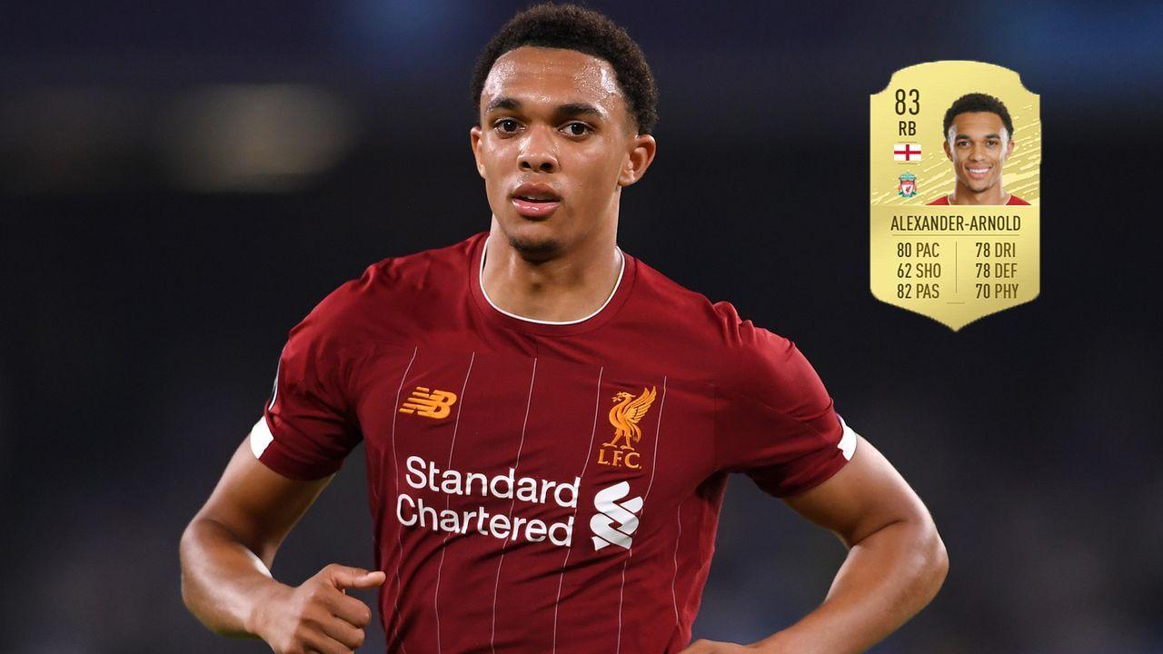 Abwehr: Trent Alexander-Arnold (+6/FC Liverpool) - Bildquelle: 2019 Getty Images