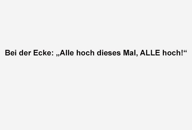 Alle Hoch! - Bildquelle: ran.de