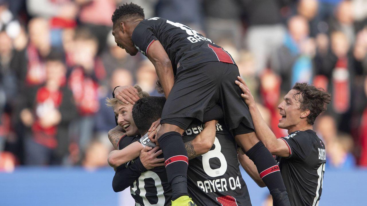 Bayer Leverkusen - Bildquelle: imago images / Sven Simon