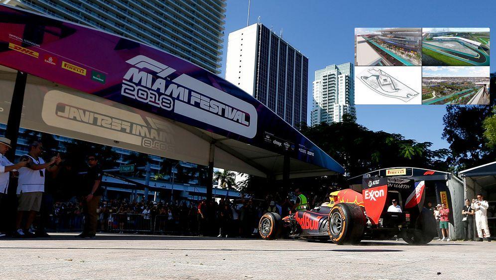Die Formel 1 soll nach Miami kommen. - Bildquelle: 2018 Getty Images