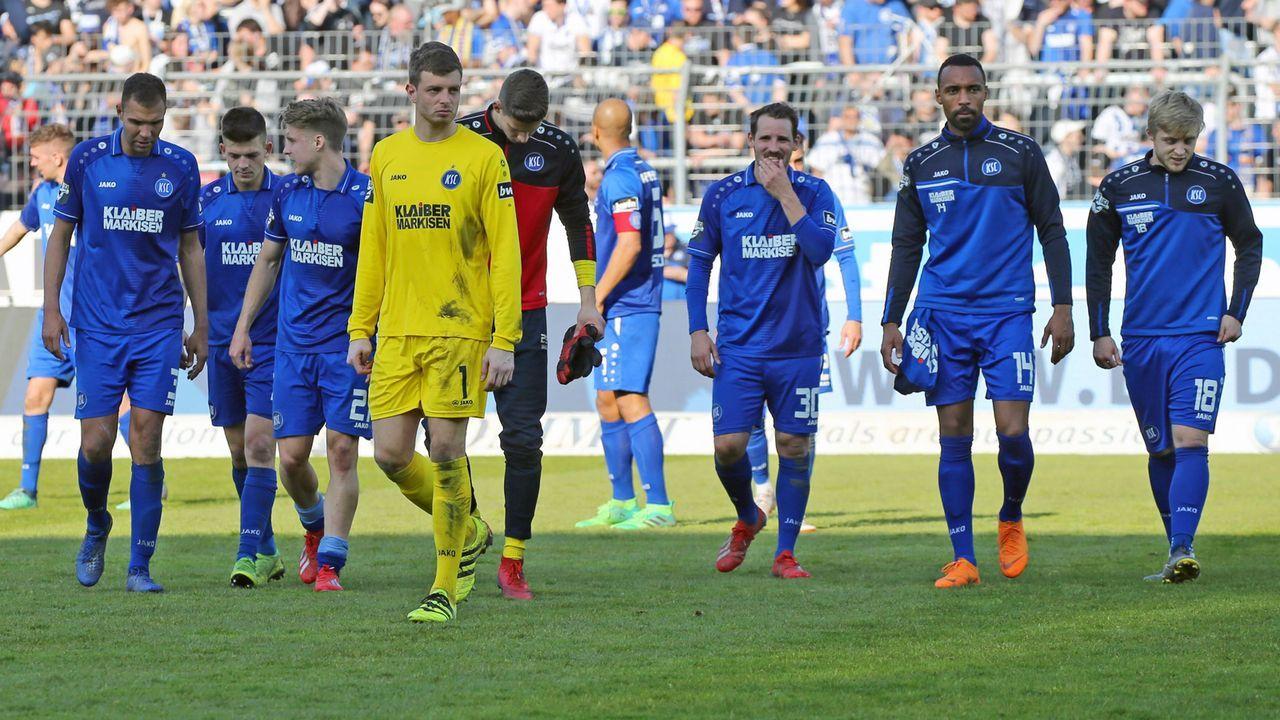 Karlsruher SC (59 Punkte, Platz 2) - Bildquelle: imago images / Sportfoto Rudel