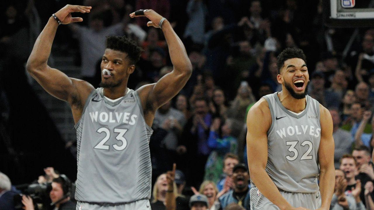 7. Platz im Westen: Minnesota Timberwolves - Bildquelle: 2018 Getty Images