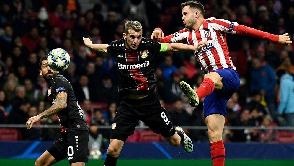 Lars Bender fehlt der Werkself im Spiel gegen Madrid - Bildquelle: AFPSIDOSCAR DEL POZO