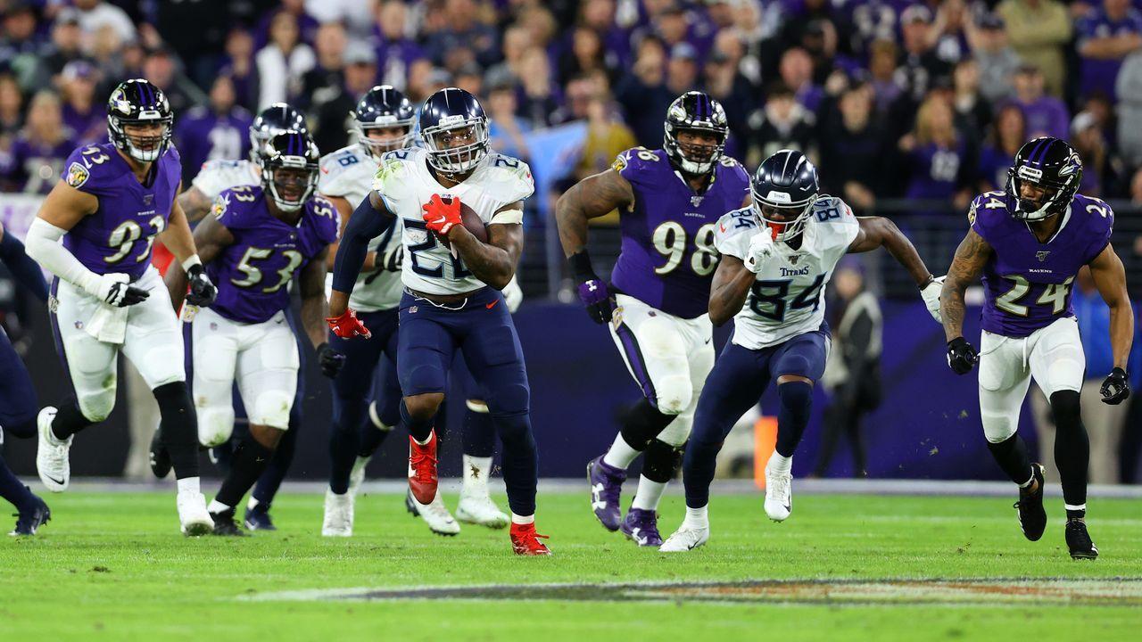 11. Spieltag: Tennessee Titans @ Baltimore Ravens  - Bildquelle: 2020 Getty Images