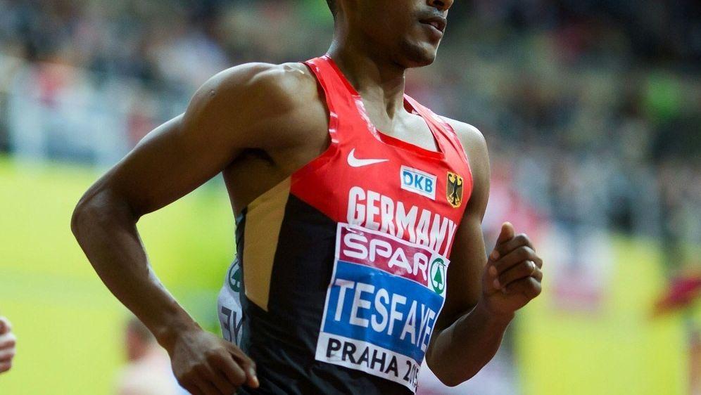 Homiyu Tesfaye benötigte für 42,195 km 2:18:30 Stunden - Bildquelle: PIXATHLONPIXATHLONSID