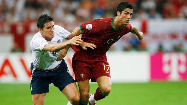 Cristiano Ronaldo gegen England - Bildquelle: 2006 Getty Images