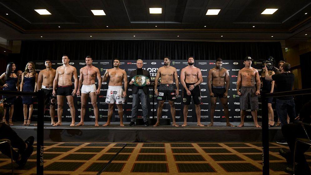 Diese acht Kickboxer kämpfen um 150.000 Dollar - Bildquelle: Glory