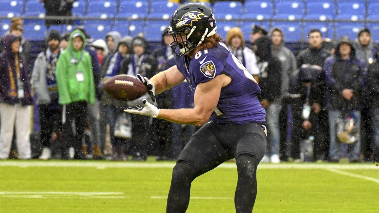 Pick 25: Hayden Hurst (Tight End, Baltimore Ravens) - Bildquelle: imago/Icon SMI
