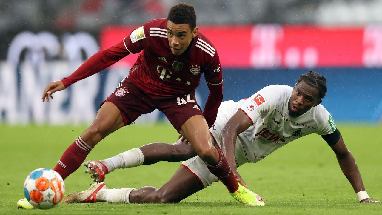 Jamal Musiala (FC Bayern München) - Bildquelle: 2021 Getty Images
