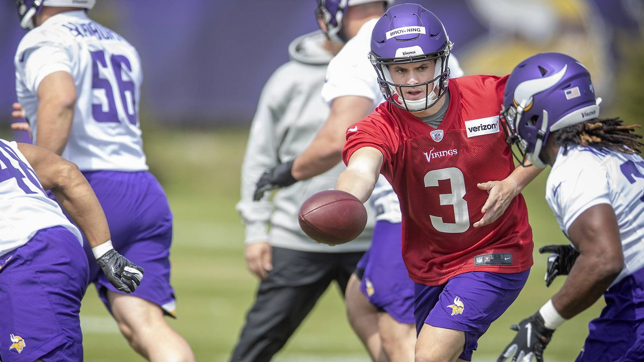 Jake Browning (Quarterback, Minnesota Vikings)  - Bildquelle: imago images / ZUMA Press