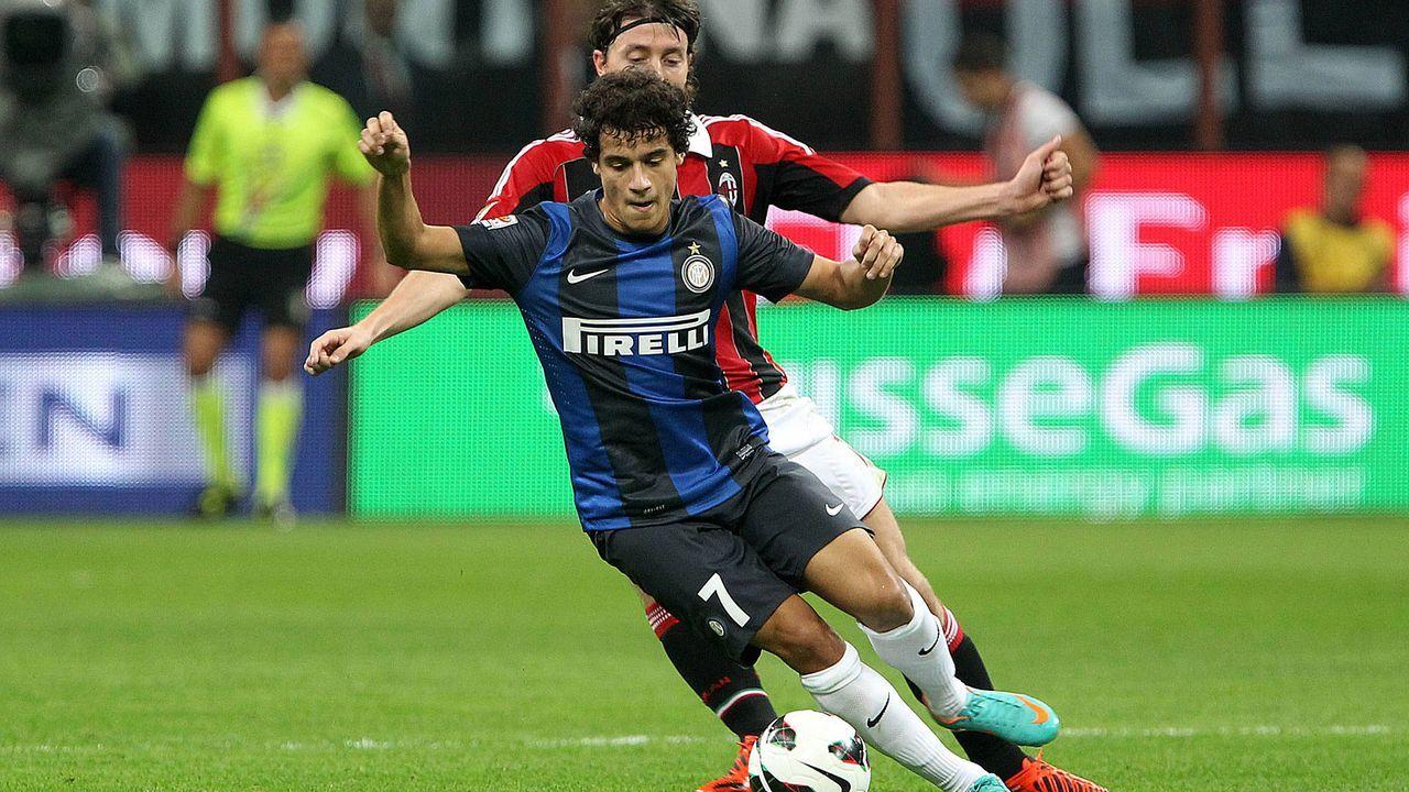 Inter Mailand ist seine erste Station in Europa - Bildquelle: imago sportfotodienst