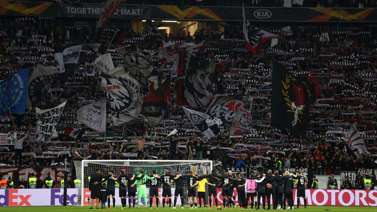 Eintracht Frankfurt verzichtet auf stadionweites WLAN - Bildquelle: Getty Images