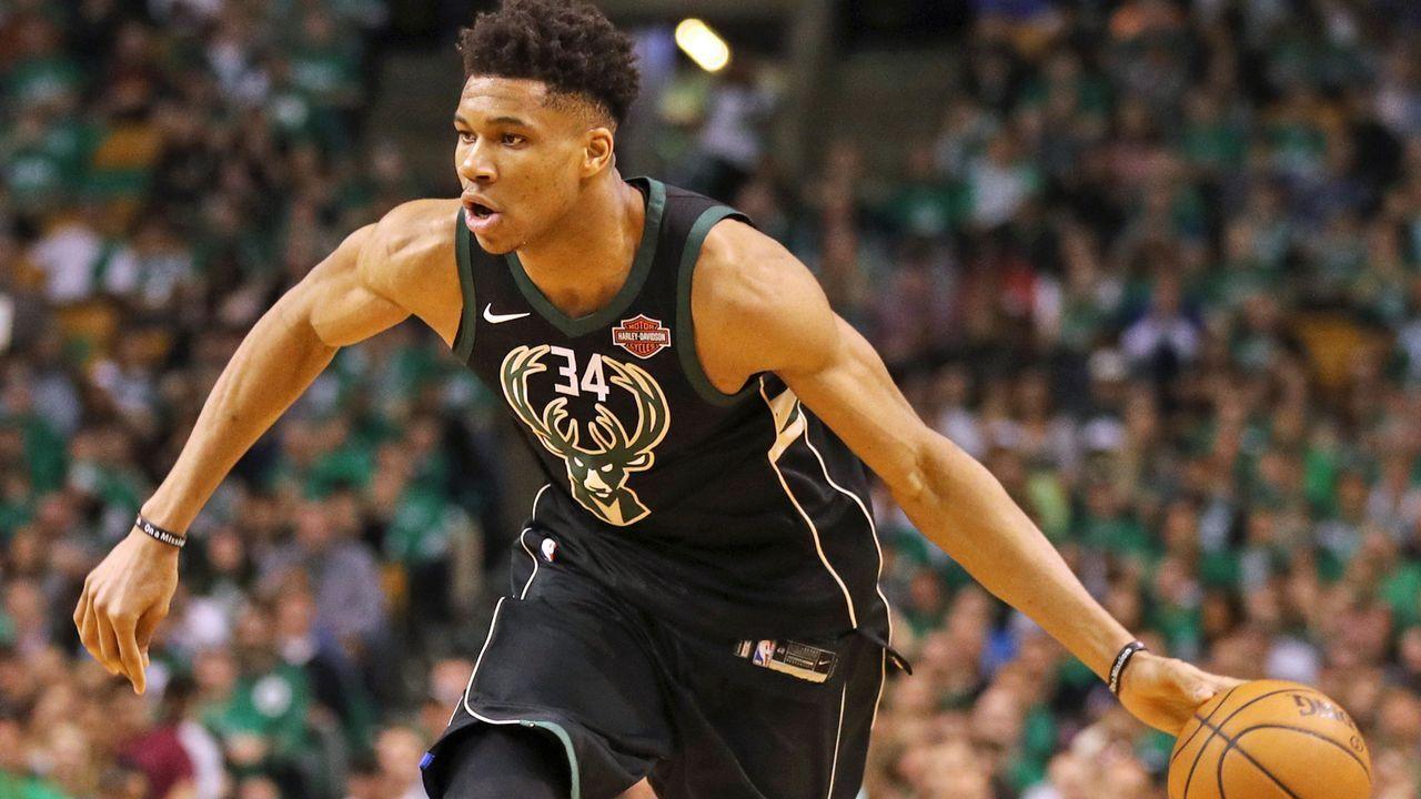 Platz 2: Giannis Antetokounmpo, Milwaukee Bucks - Bildquelle: 2018 Getty Images