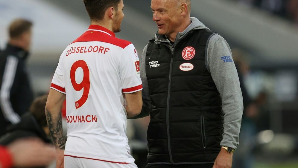 Dawid Kownacki (l.) war der Matchwinner in Düsseldorf - Bildquelle: FIROFIROSID