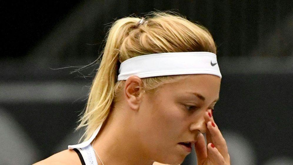 Erneutes Erstrunden-Aus für Carina Witthöft - Bildquelle: AFPSIDBARBARA GINDL