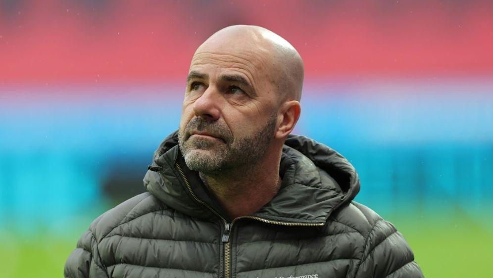 Bayer-Trainer Peter Bosz beklagt neun verletzte Spieler - Bildquelle: FIROFIROSID