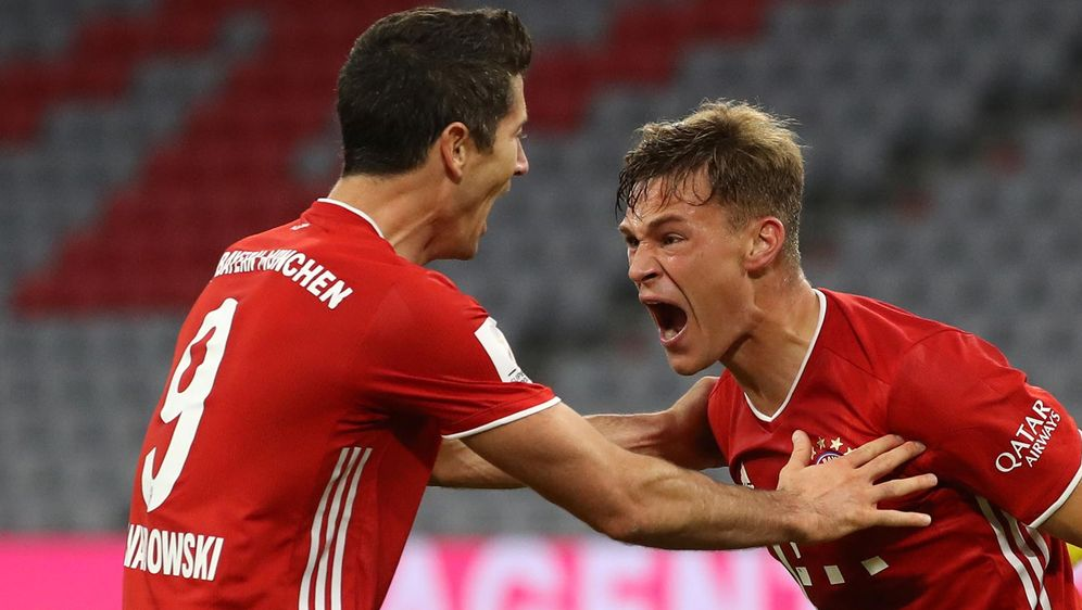 Soll beim FC Bayern langfristig verlängern: Joshua Kimmich. - Bildquelle: getty