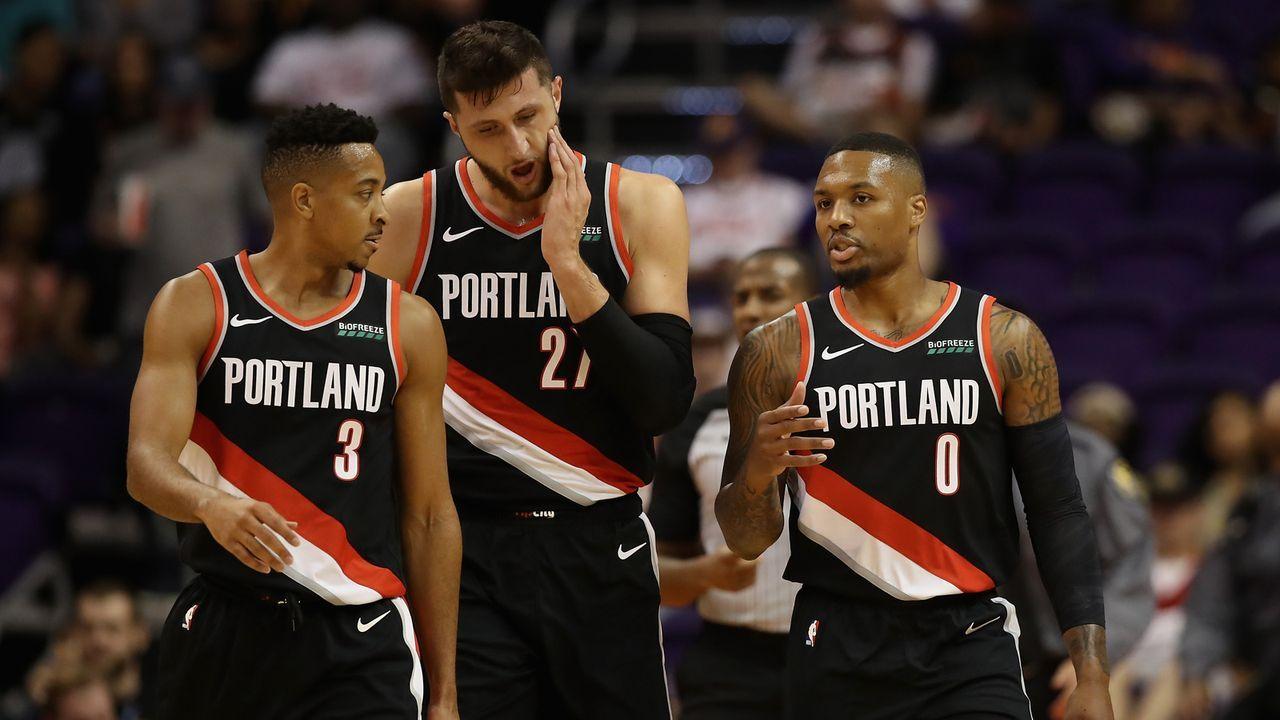 6. Platz im Westen: Portland Trail Blazers - Bildquelle: 2018 Getty Images