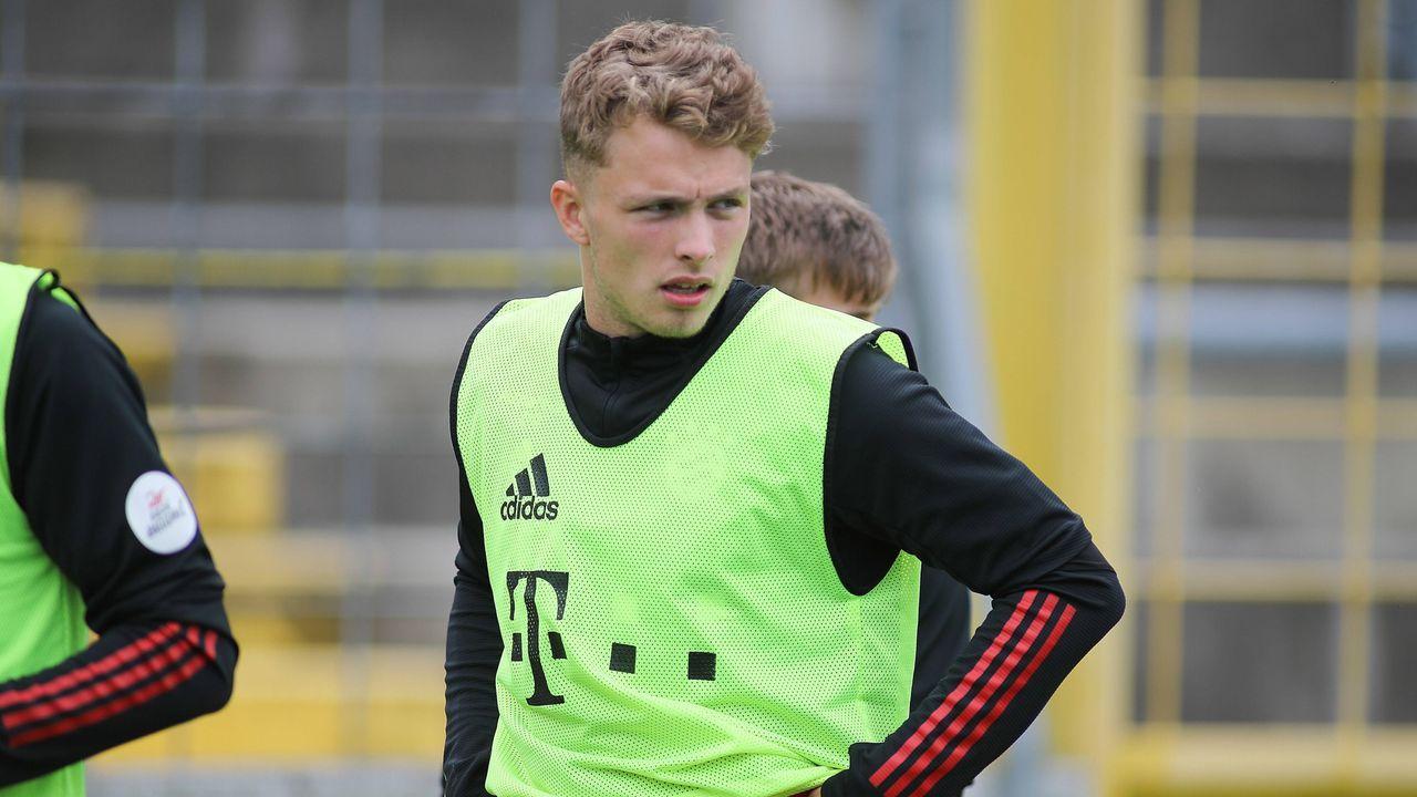 Fiete Arp (FC Bayern München) - Bildquelle: imago images/Fotostand