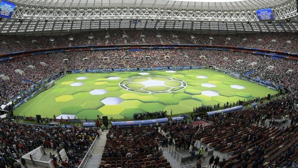 Auch die WM 2018 in Russland soll gekauft worden sein - Bildquelle: AFPSIDJUAN MABROMATA