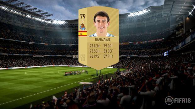 Platz 8: Mikel Oyarzabal (Real Sociedad San Sebastian) - Bildquelle: EA Sports