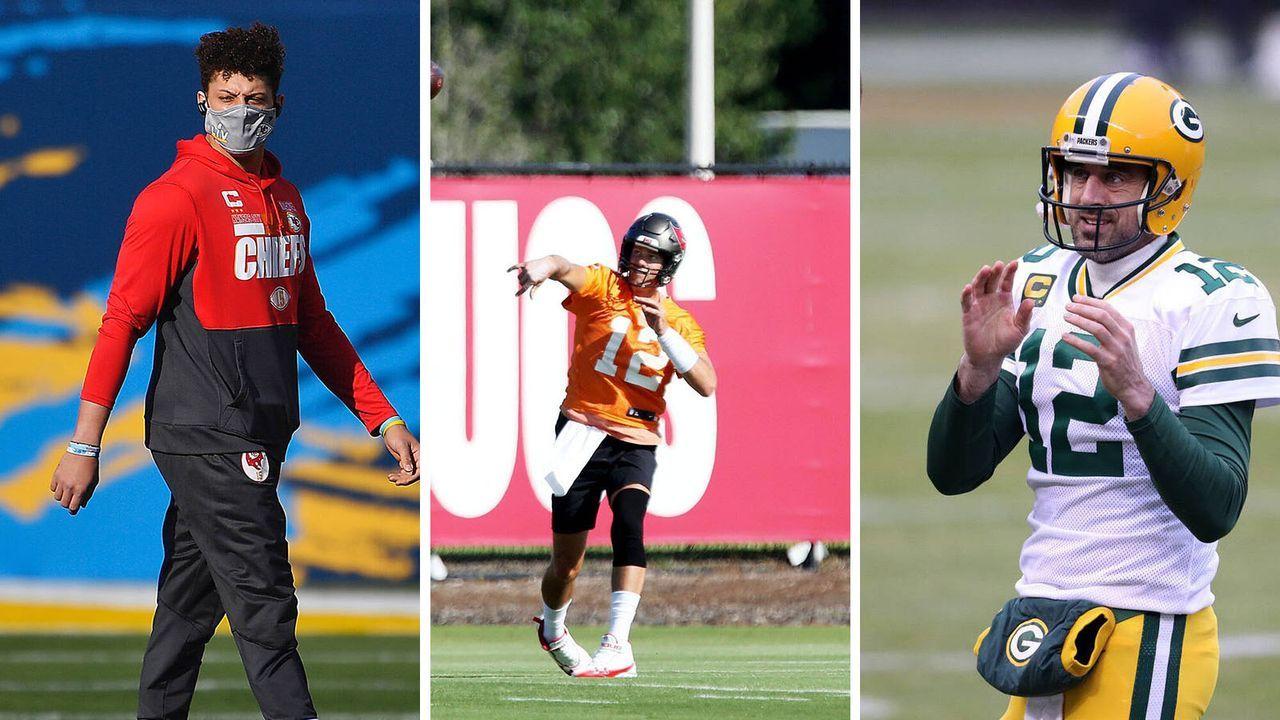 Die Top-10-Quarterbacks der NFL-Funktionäre - Bildquelle: imago