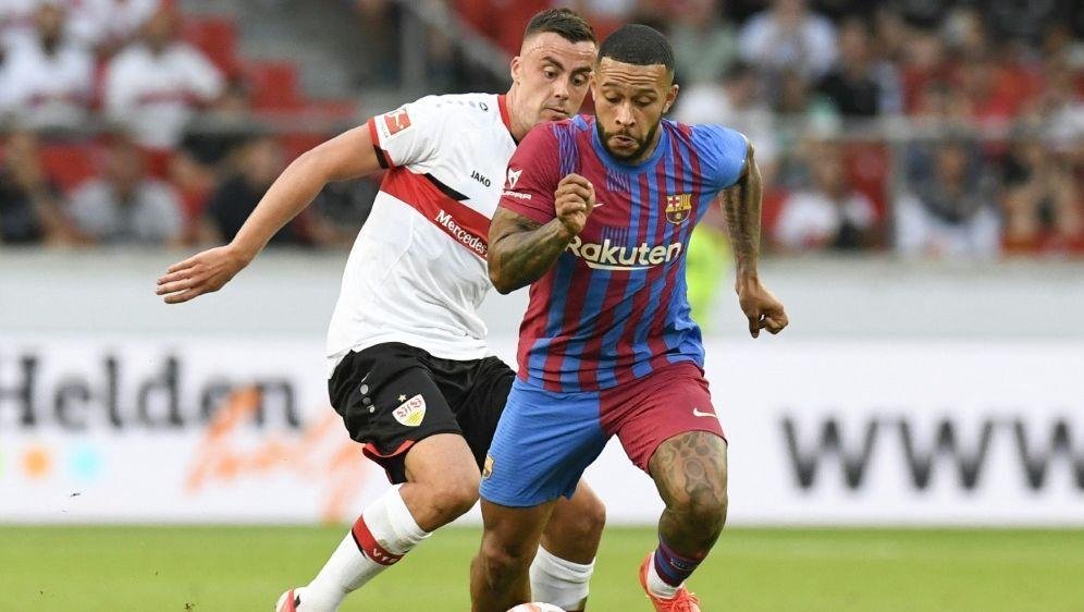 Der VfB verliert gegen den FC Barcelona mit 0:3 - Bildquelle: AFP SIDTHOMAS KIENZLE