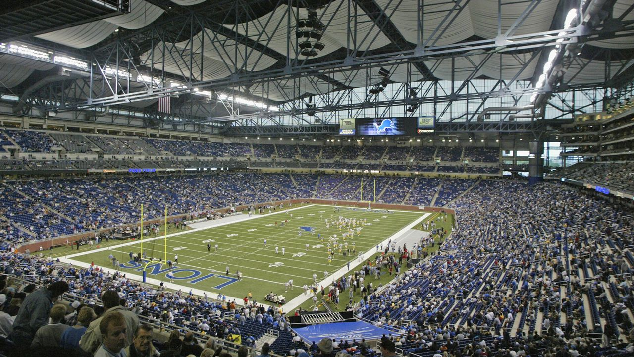 Detroit Lions: Ford Field - Bildquelle: Getty Images